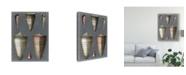 "Trademark Global Pierre Redoute Midnight Shells I Canvas Art - 37"" x 49"""