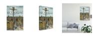 "Trademark Global Melissa Wang European Afternoon IV Canvas Art - 20"" x 25"""