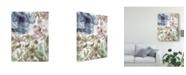 """Trademark Global Delores Naskrent Bouquet of Dreams III Canvas Art - 37"""" x 49"""""""