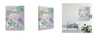 "Trademark Global Delores Naskrent Bouquet of Dreams VIII Canvas Art - 20"" x 25"""
