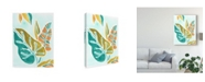 "Trademark Global June Erica Vess Jungle Expression I Canvas Art - 37"" x 49"""