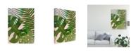 "Trademark Global Victoria Borges Tropical Tangle II Canvas Art - 20"" x 25"""