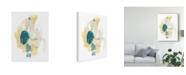 "Trademark Global June Erica Vess Basilisk V Canvas Art - 37"" x 49"""