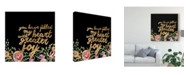 """Trademark Global Studio W Floral Faith I Canvas Art - 20"""" x 25"""""""