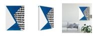 """Trademark Global Renee W. Stramel Memphis in Blue III Canvas Art - 15"""" x 20"""""""
