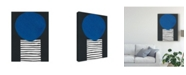 "Trademark Global Renee W. Stramel Memphis in Blue V Canvas Art - 20"" x 25"""