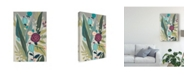 "Trademark Global June Erica Vess Tropicana Panel II Canvas Art - 20"" x 25"""