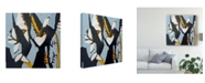 "Trademark Global Erin Mcgee Ferrell Blue II Canvas Art - 20"" x 25"""