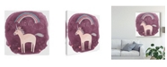 "Trademark Global June Erica Vess Magic Unicorn Squad IV Canvas Art - 20"" x 25"""