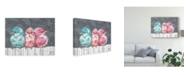 "Trademark Global Jennifer Rutledge Bird Trio I Canvas Art - 15"" x 20"""