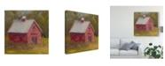 "Trademark Global Marilyn Wendling Country Road II Canvas Art - 15"" x 20"""