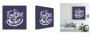 "Trademark Global Jj Brando Punny Nautical IV Canvas Art - 20"" x 25"""