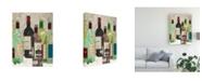 "Trademark Global Samuel Dixon Red Or White I Canvas Art - 20"" x 25"""
