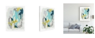 "Trademark Global June Erica Vess Arc Lights I Canvas Art - 15"" x 20"""