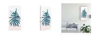 "Trademark Global June Erica Vess Stems in Indigo II Canvas Art - 20"" x 25"""