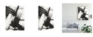 """Trademark Global Ethan Harper Diagonal Matrix I Canvas Art - 20"""" x 25"""""""