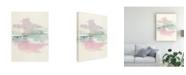 "Trademark Global Mike Schick Lifting Fog Watercolor Canvas Art - 20"" x 25"""