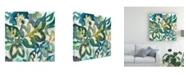 "Trademark Global Chariklia Zarris Woodbine II Canvas Art - 15"" x 20"""