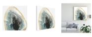 "Trademark Global June Erica Vess Cropped Geodes III Canvas Art - 15"" x 20"""