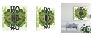"Trademark Global June Erica Vess Lets Get Jolly II Canvas Art - 20"" x 25"""