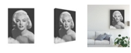 "Trademark Global Chris Consani Classic Beauty Canvas Art - 15"" x 20"""