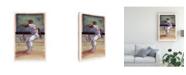 "Trademark Global Bruce Dean Baseball I Canvas Art - 20"" x 25"""