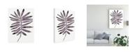 "Trademark Global June Erica Vess Foliage Fossil I Canvas Art - 20"" x 25"""
