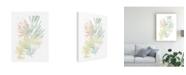 """Trademark Global June Erica Vess Pastel Tropics I Canvas Art - 15"""" x 20"""""""