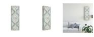 "Trademark Global June Erica Vess Vintage Persian Panel I Canvas Art - 15"" x 20"""