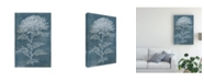 "Trademark Global Melissa Wang Indigo Dance II Canvas Art - 20"" x 25"""