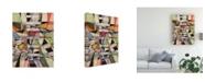 "Trademark Global Nikki Galapon Valse June Canvas Art - 37"" x 49"""