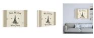 "Trademark Global Pela Studio Paris Farmhouse I Canvas Art - 19.5"" x 26"""