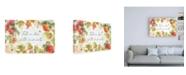 "Trademark Global Katie Pertiet Orchard Harvest I Canvas Art - 19.5"" x 26"""