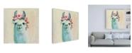 "Trademark Global Julia Purinton Festival Girl III Canvas Art - 15.5"" x 21"""