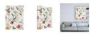 "Trademark Global Janelle Penner Boho Field Pattern VA Canvas Art - 27"" x 33.5"""