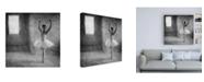 """Trademark Global Roswitha Schleicher Schwarz In Position Canvas Art - 36.5"""" x 48"""""""