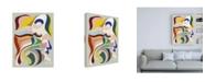 """Trademark Global Design Fabrikken Born Again 2 Fabrikken Canvas Art - 27"""" x 33.5"""""""