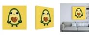 "Trademark Global Michael Buxton Luvacado Canvas Art - 15.5"" x 21"""