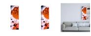 """Trademark Global Roderick Stevens Orange Gellow Canvas Art - 19.5"""" x 26"""""""