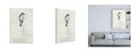 "Trademark Global TypeLike Bird is sweet Canvas Art - 19.5"" x 26"""
