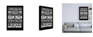 "Trademark Global TypeLike Success Canvas Art - 19.5"" x 26"""