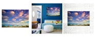 "CHRISTOPHER KNIGHT COLLECTION - Beach Hut Heaven Canvas Art, 27"" x 36"""