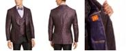 Tallia Men's Purple Floral Dinner Jacket