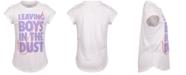 Nike Little Girls Cotton Leaving Boys In The Dust T-Shirt