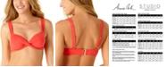 Anne Cole Twist-Front Underwire Bikini Top
