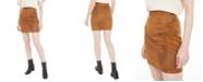 Free People Rumi Ruched Mini Skirt