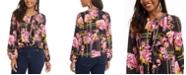 Thalia Sodi Printed Ruffled Top, Created For Macy's
