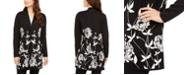 Alfani Floral-Print Cardigan, Created For Macy's