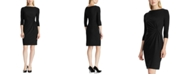 Lauren Ralph Lauren Twisted-Knot Jersey Dress