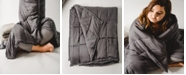 STITCHED Weighted Blanket Size- Queen